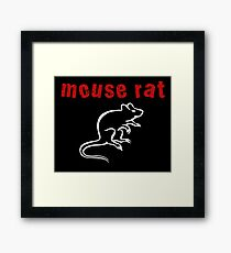 Mouse Rat Framed Print