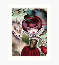 Dragon Lady - Victorian Gothic Art Print