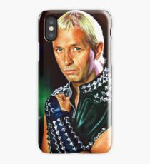 Rob Halford Priest, painting portrait iPhone Case/Skin
