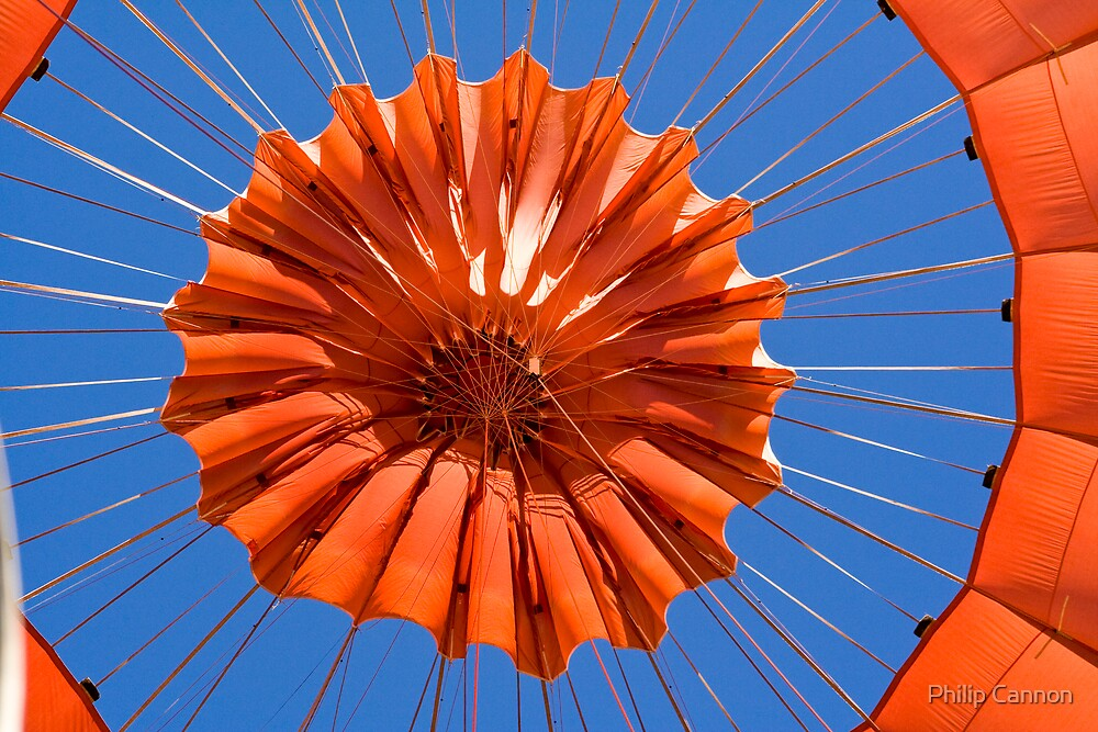 Hot air balloon by Philip Cannon