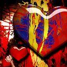 Graffiti Hearts by Myron Watamaniuk