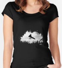 Hang-glider Women's Fitted Scoop T-Shirt
