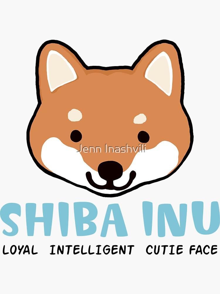 Shiba Inu: Loyal  Intelligent  Cutie Face by ShortCoffee