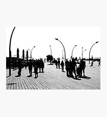 Tel Aviv Port In The Morning Photographic Print