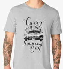 Supernatural - Carry on my Wayward Son Men's Premium T-Shirt