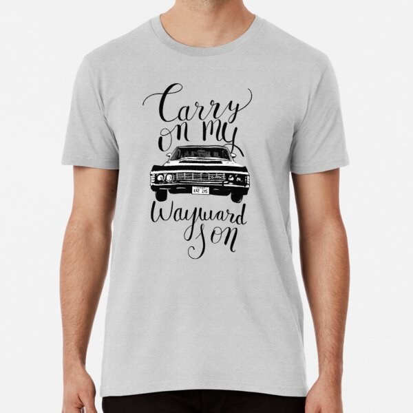 Supernatural - Carry on my Wayward Son Premium T-Shirt