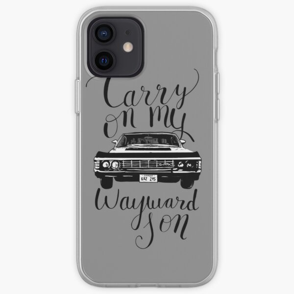 Supernatural - Carry on my Wayward Son iPhone Soft Case