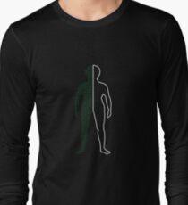 Half a Computer Long Sleeve T-Shirt