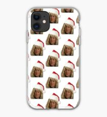 santa's wee helper jacqueline mccafferty iPhone Case