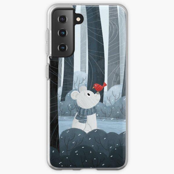 Bear and Bird Samsung Galaxy Soft Case