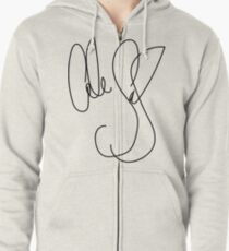 Cole Sprouse Autograph Zipped Hoodie