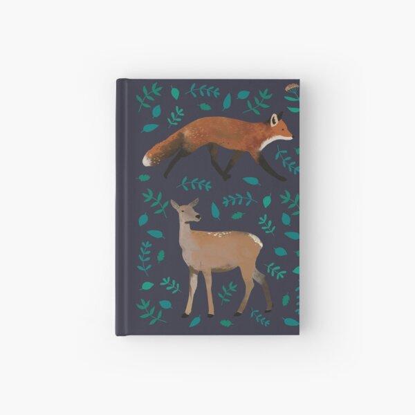 Fox & Deer Hardcover Journal