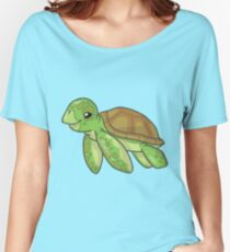 Green Sea Turtle Women's Relaxed Fit T-Shirt