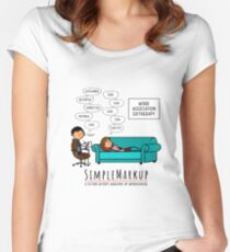 Editherapy - The Invisible Said Fitted Scoop T-Shirt