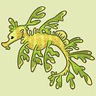 Leafy Sea Dragon by bytesizetreas