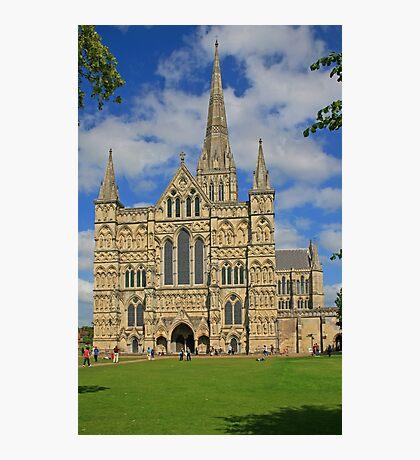 Salisbury Cathedral Photographic Print