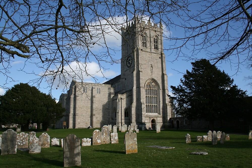 Christchurch Priory by RedHillDigital