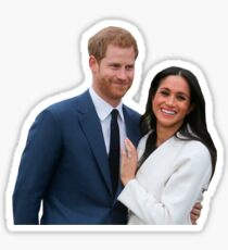 Congratulations Meghan and Harry Sticker