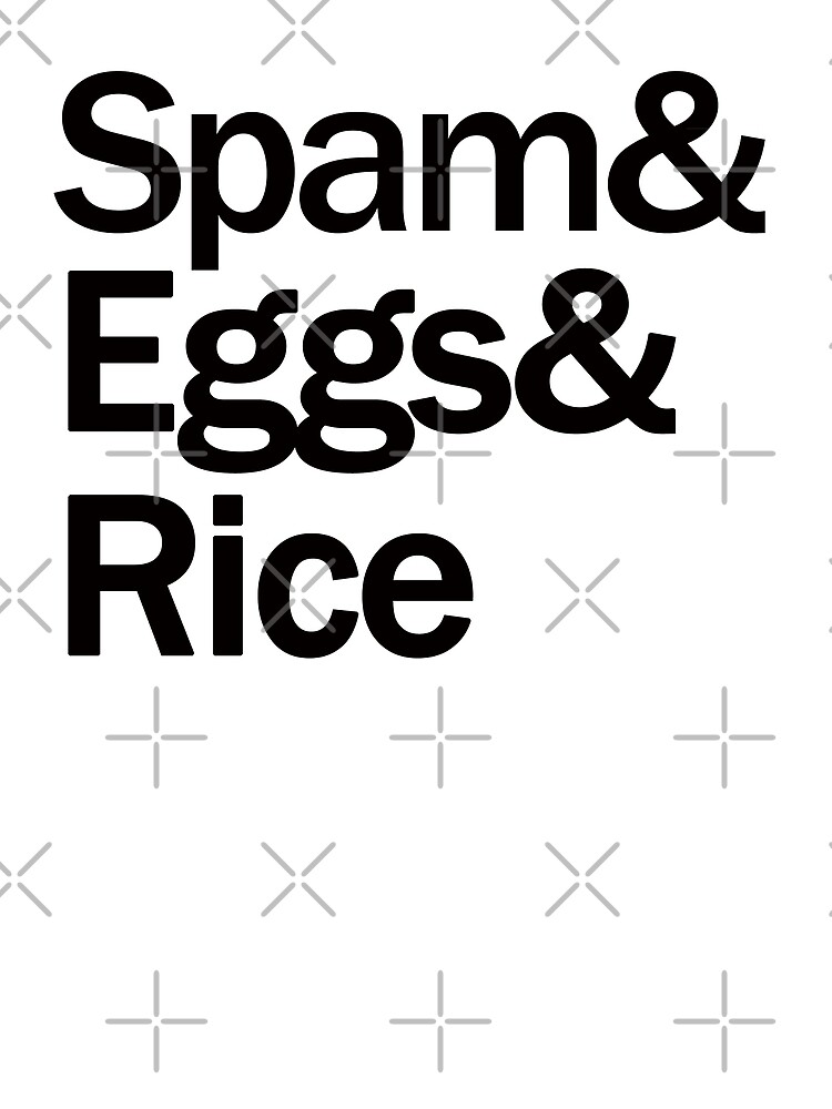 Spam & Eggs & Rice by themarvdesigns
