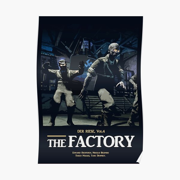 The Factory Vol.4 Poster