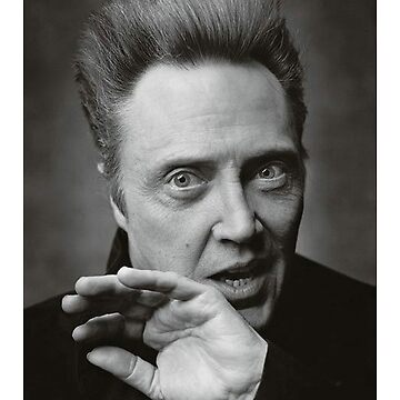 Christopher Walken Intimidation Portrait by Slackr