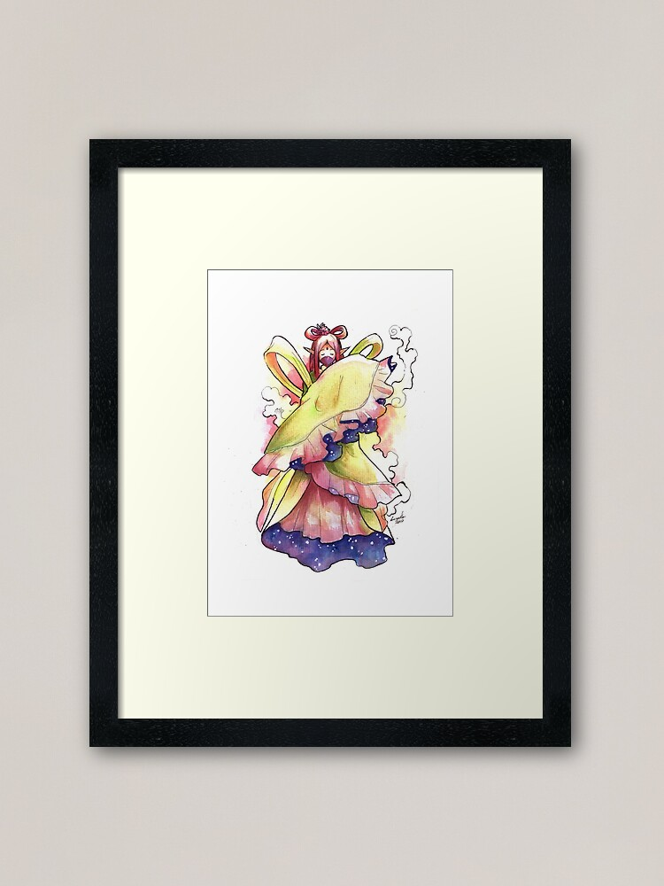Alternate view of The Mysterious Fairy Framed Art Print