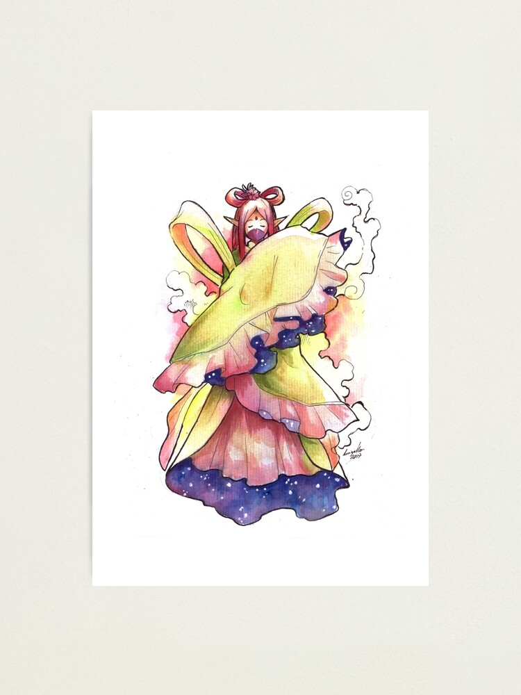 Alternate view of The Mysterious Fairy Photographic Print