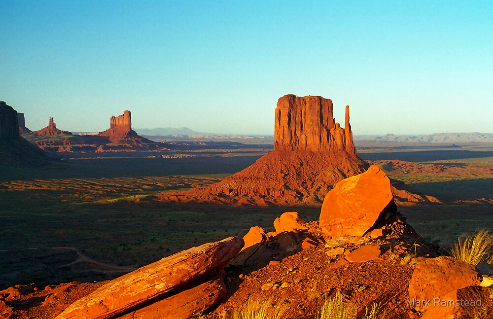 Monument Valley Rocks by Mark Ramstead