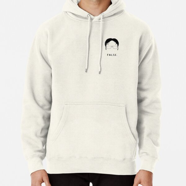 The Office Dwight's Face Pullover Hoodie