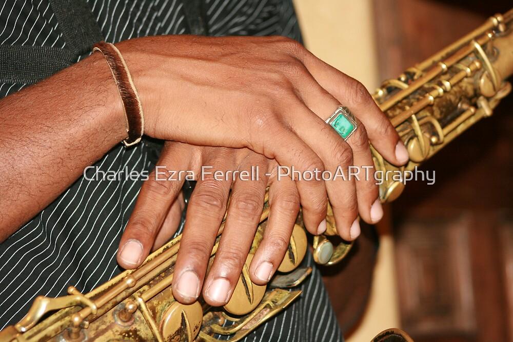 Sax Prayer by Charles Ezra Ferrell - PhotoARTgraphy