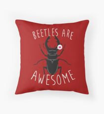 Beetles Are Awesome Floor Pillow