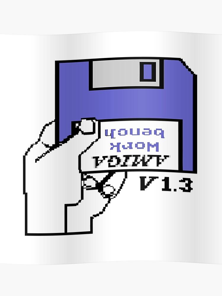 Commodore Amiga workbench hand | Poster