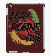 Dead Robins Club iPad Case/Skin