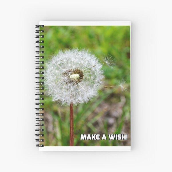 Make A Wish! Spiral Notebook