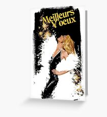 meilleurs voeux Greeting Card