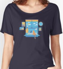 Sunday Afternoon Staring Contest Women's Relaxed Fit T-Shirt