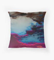 Moody Sunset Photograph Throw Pillow