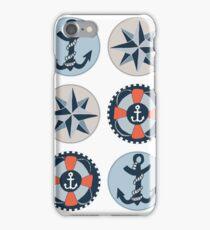 Nautical Adventures: Icons iPhone Case/Skin