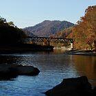 New River Train Bridge by Brandy Bentz-Jackson