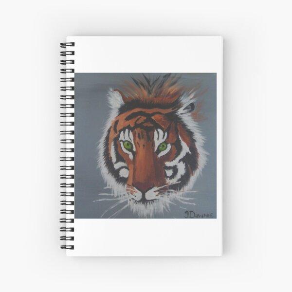 Tiger Head Spiral Notebook