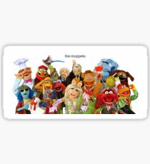 muppets Sticker