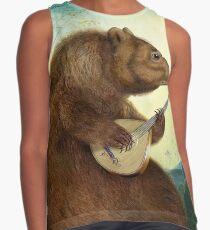 Mandolin Bear Contrast Tank