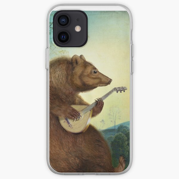Mandolin Bear iPhone Flexible Hülle