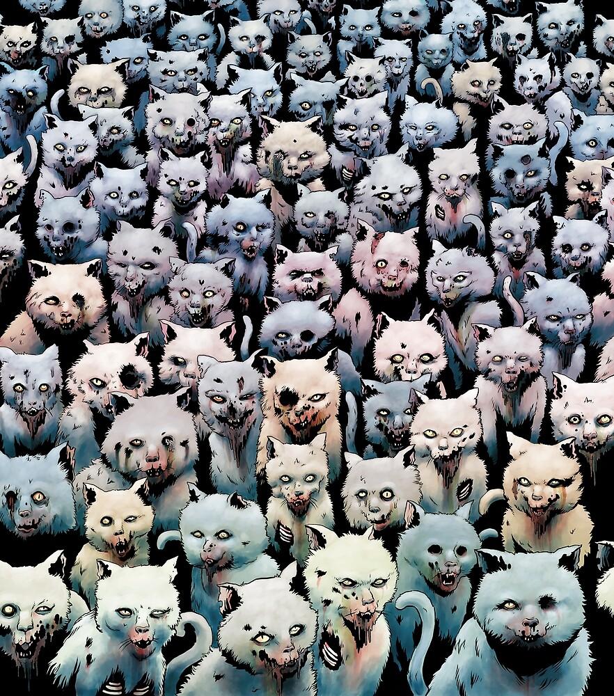 Zombie Kitties by Tim Molloy