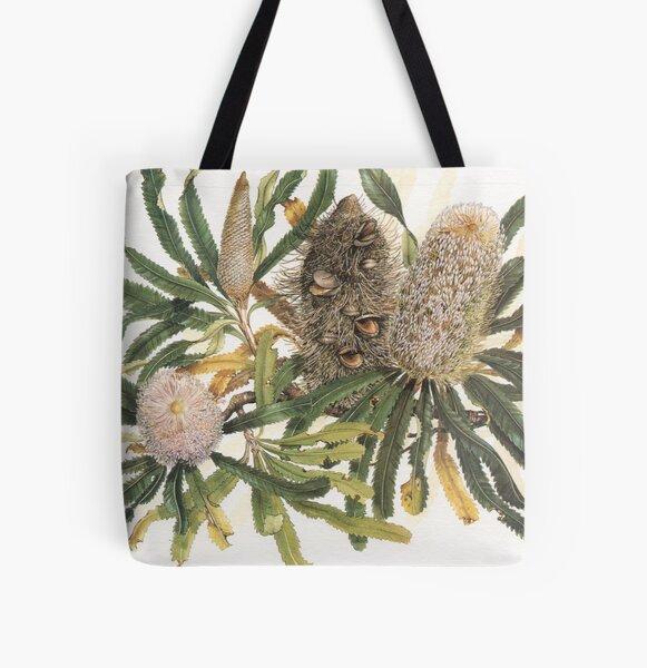 Banksia serrata All Over Print Tote Bag