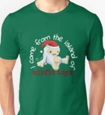 I Come from the Island of Misfit Toys T-Shirt