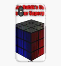 Rubik's Power iPhone Case/Skin