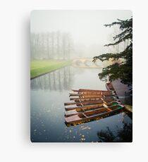 Foggy Morning In Cambridge I Canvas Print