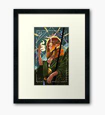 Druid Temperance Tarot Card Framed Print