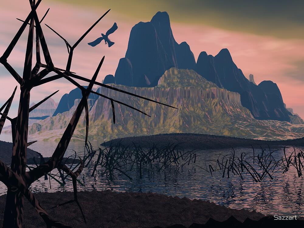 Erahcul's Swamp01 by Sazzart